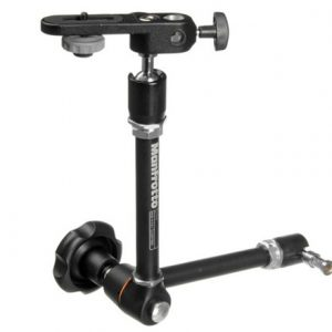 Manfrotto 244N Variable-friction Magic Arm with DSLR Camera Mount